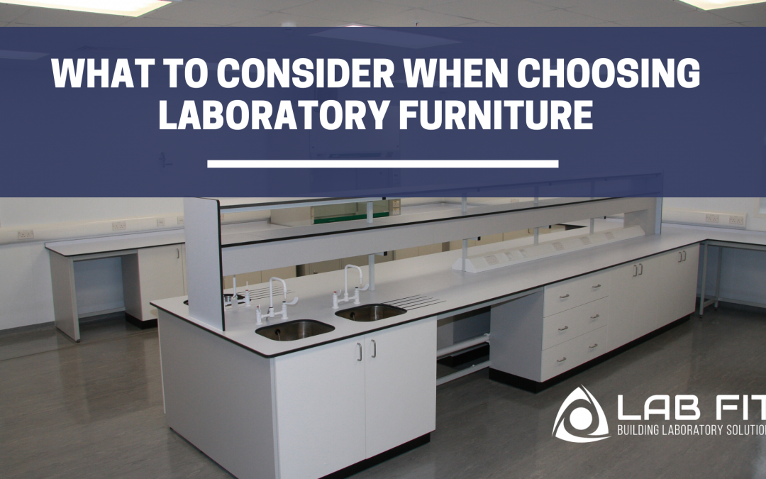 What to Consider When Choosing Laboratory Furniture