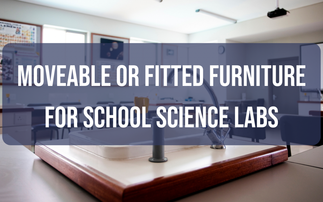 Moveable or Fitted Furniture for School Science Labs- which is Better – or Both?
